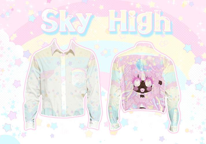 Sky High Long Sleeve Button-Up