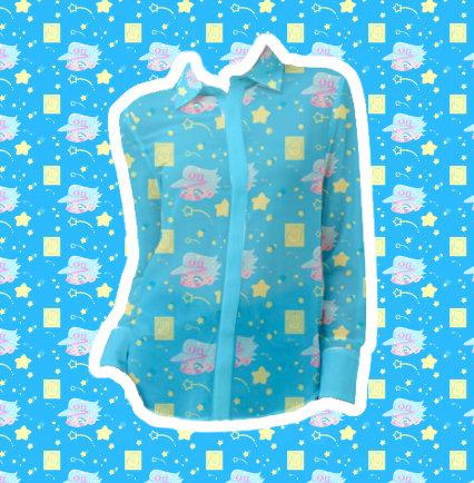 Pastel Jotaro Chiffon Shirt