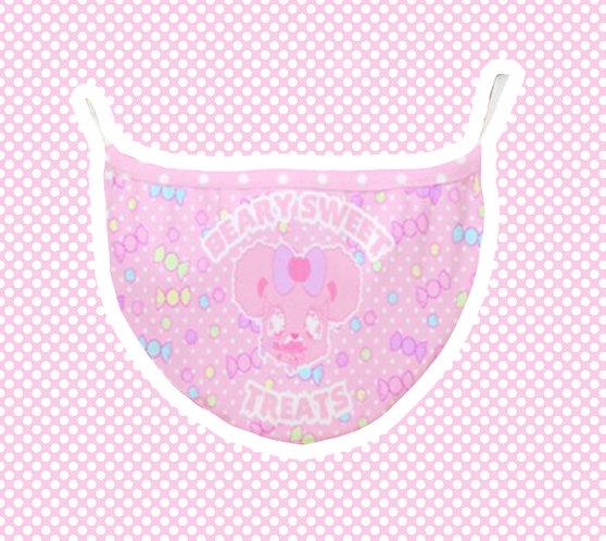 Beary Sweet Treats Face Mask