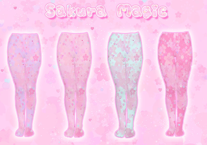 Sakura Magic Tights