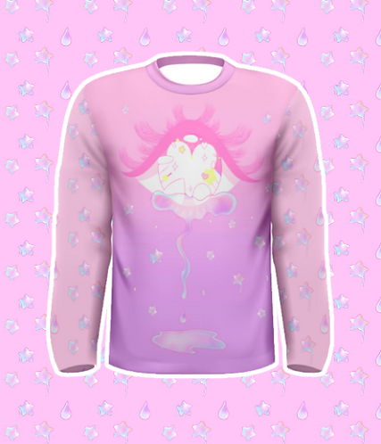 Starry Tears Long Sleeve Shirt