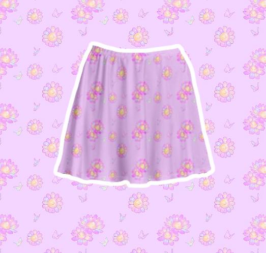Precious Flora Skirt