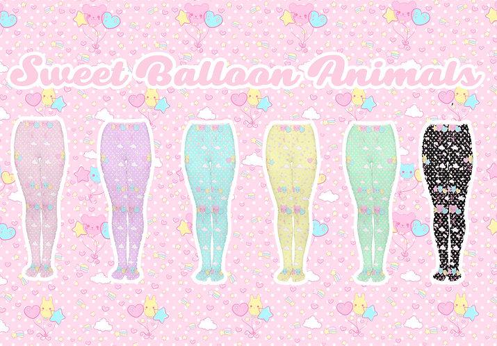 Sweet Balloon Animals Tights