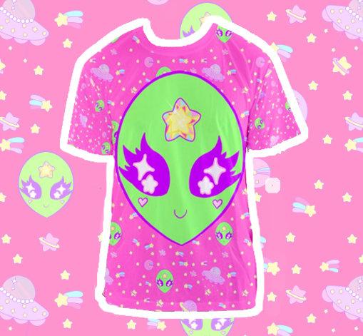 Alien Space Star Cutie Shirt