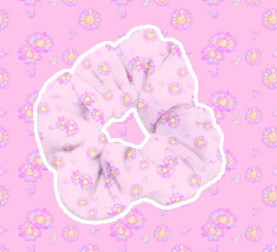 Precious Flora Fuwa Scrunchie