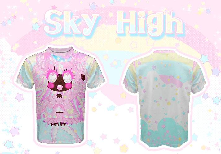 Sky High Fluffy Tee