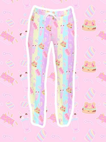 Coco Kuma Diner Velvet Pants