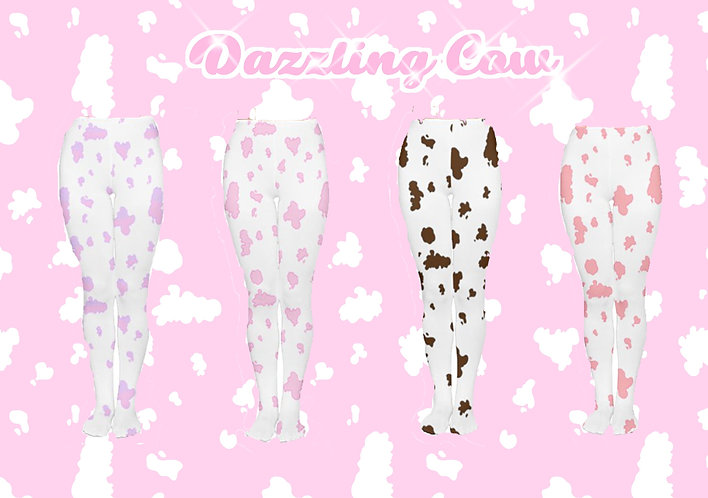 Dazzling Cow Tights