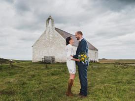 Real wedding:wild welsh micro wedding