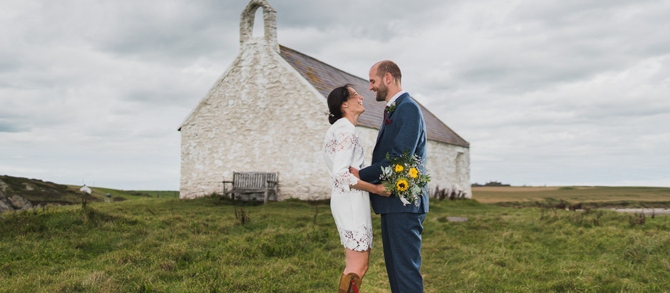 Real wedding:wild welsh micro wedding
