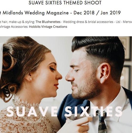 Suave sixties on My Little Wedding Shop