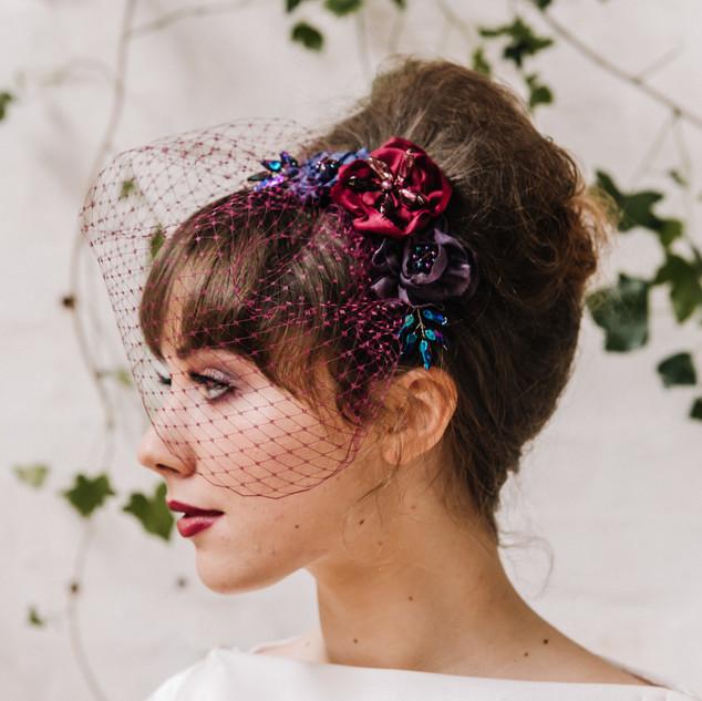Bespoke_Silk_Floral_Veil_Wedding_Headpie