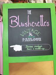 The Blusherettes sign