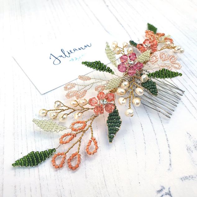 Flora_Floral_Wedding_Hair_Garland_Comb_J