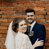 the happy couple by Indie Love Photgraph