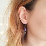 Earring details