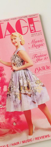 Vintage Life cover January issue
