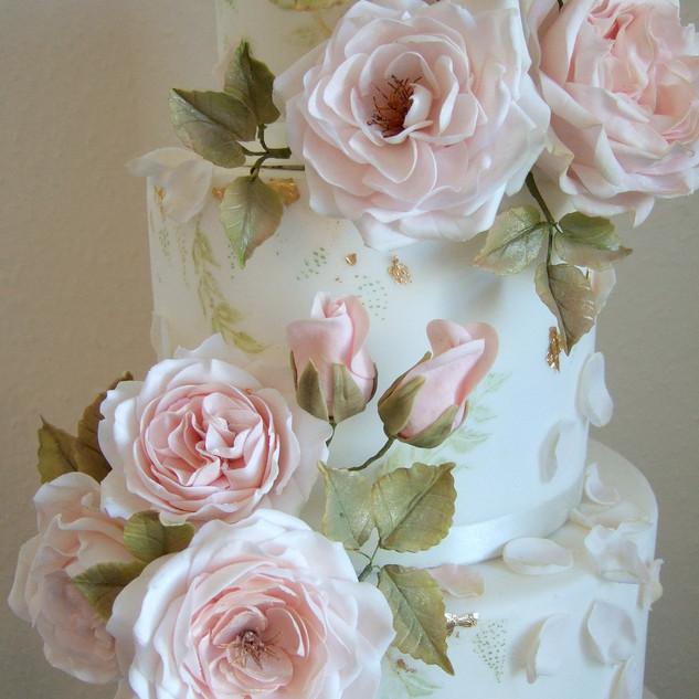 Sugar Rose Detail