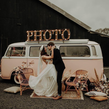 3 vintage caravans to style up your reception