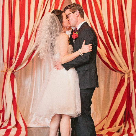 Carnival time:how to create a funfair themed wedding