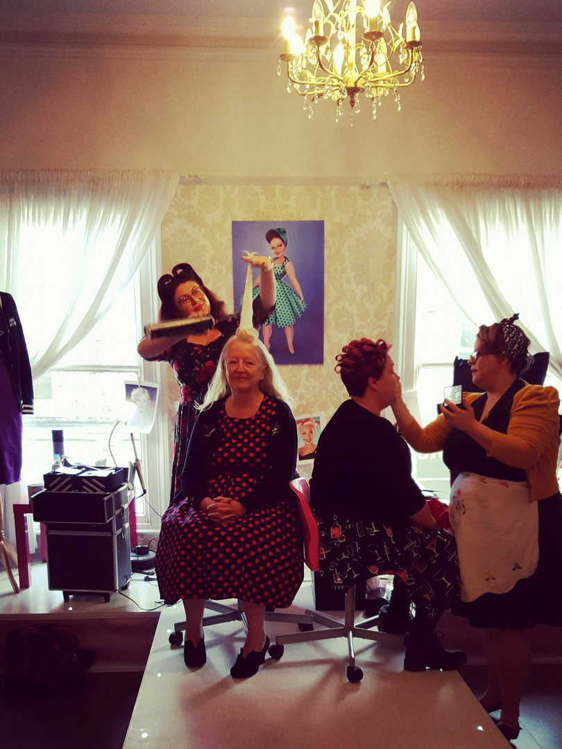 Vintage clothing event in Altringham