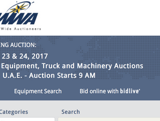 World Wide Auctioneers (WWA) in Dubai postponed