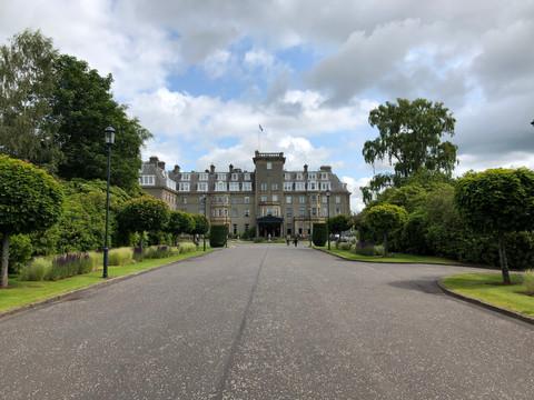 The Gleneagles Hotel, Scotland
