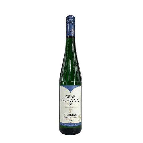 Graf Johann IV Riesling Haltrocken 2017 0.75l 11%