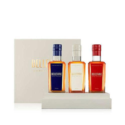 Bellevoye Whisky Gift Set (3) 3 x 20cl