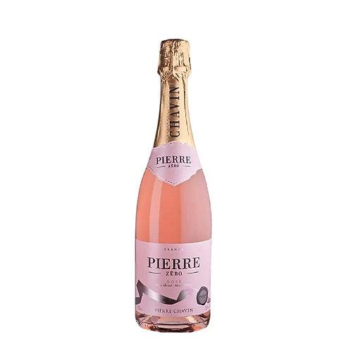 PIERRE CHAVIN PIERRE ZERO ROSE SPARKLING *NON ALCOHOL WINE (750ML)