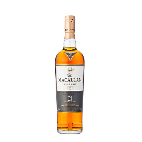 Macallan 21 Years Fine Oak 0.70l 43% (With Box)