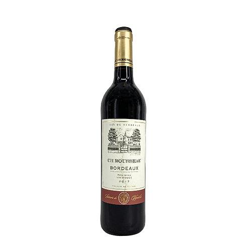 CH Rousseau Vin Rouge 2018 0.75l 12.5%