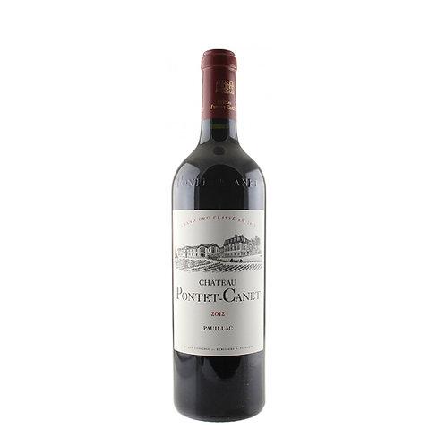 Pontet Canet 2012 0.75l 13%