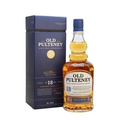 OLD PULTENEY 18 YEARS 46%