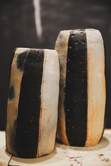 Vases HANDMADE Noir et blanc