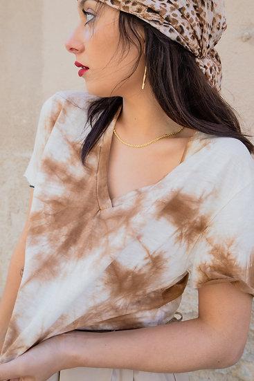 T-shirt BATIK camel