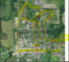 graduation parade map.JPG
