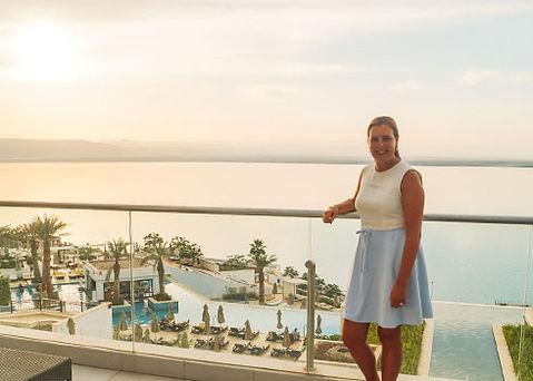 Overnachten in Hilton Hotel bij de Dode Zee in Jordanië