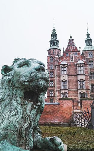 Rosenburg Castle en King's Garden in Kopenhagen