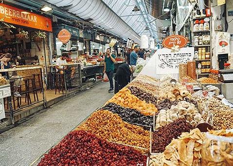 Bezoek de Yehuda Food Market in Jeruzalem