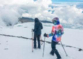 Sneeuw op de Kilimanjaro