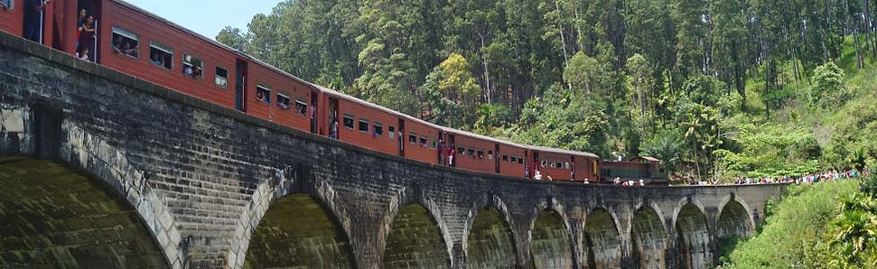 Treinreis Ella in Sri Lanka