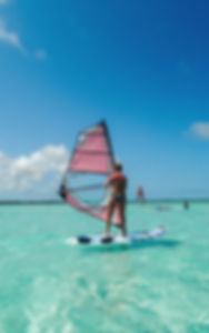 Windsurfen in Bonaire bij Jibe City