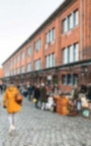 Vintage markt in Hamburg