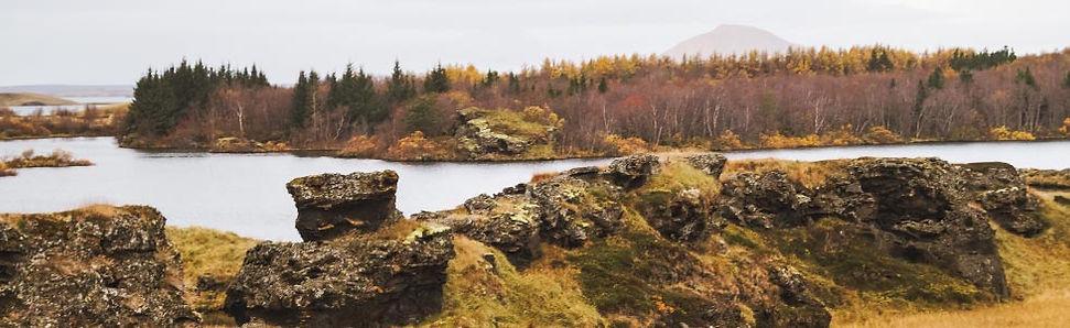 De mooiste uitzichten bij Lake Myvatn in Noord-IJsland