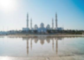 Bezoek de Sheikh Zayed Mosque in Abu Dhabi