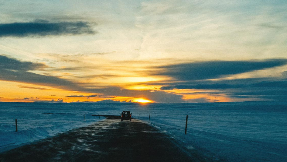 Winter roadtrip