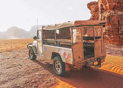 De mooiste safari door Wadi Rum