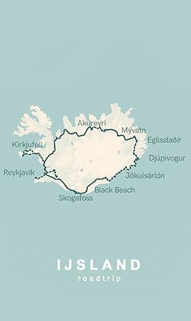 Tips voor roadtrip route IJsland 9 dagen
