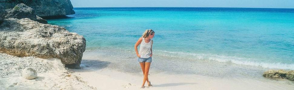 Standwandeling op Curacao maken